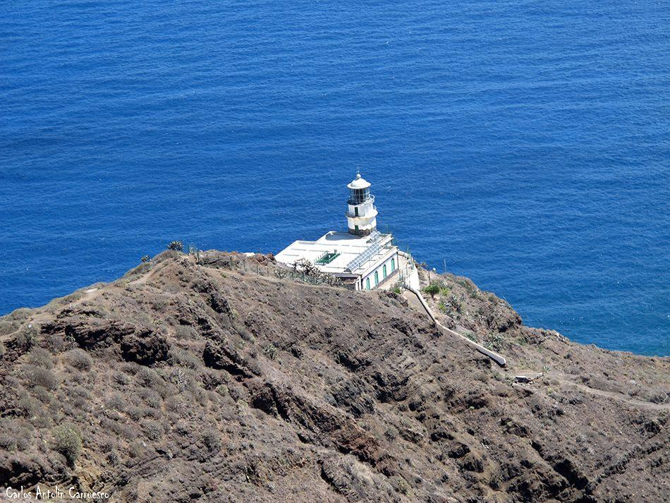 Gran Recorrido Circular por el Faro de Anaga - Tenerife - faro de anaga