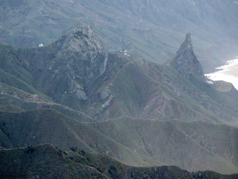 Cabezo del Tejo - Anaga - Tenerife - las animas - enmedio