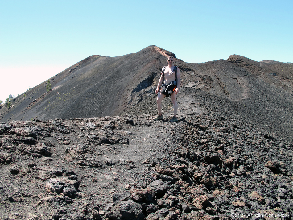 colada lávica de La Malforada - Montaña (volcán) del Fraile