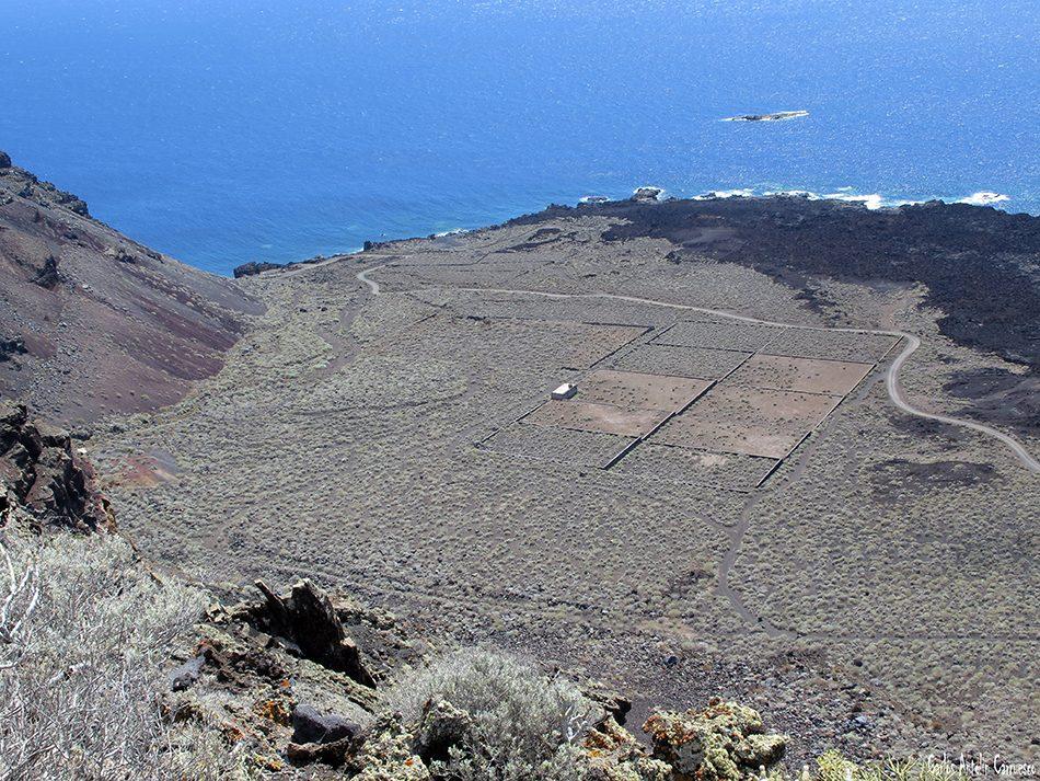 Mirador de El Lomo Negro - Malpaís - El Hierro