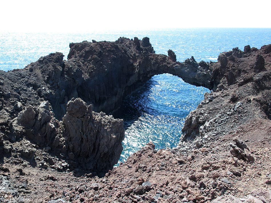Malpaís de El Hierro - isla de El Hierro - Arco de La Tosca