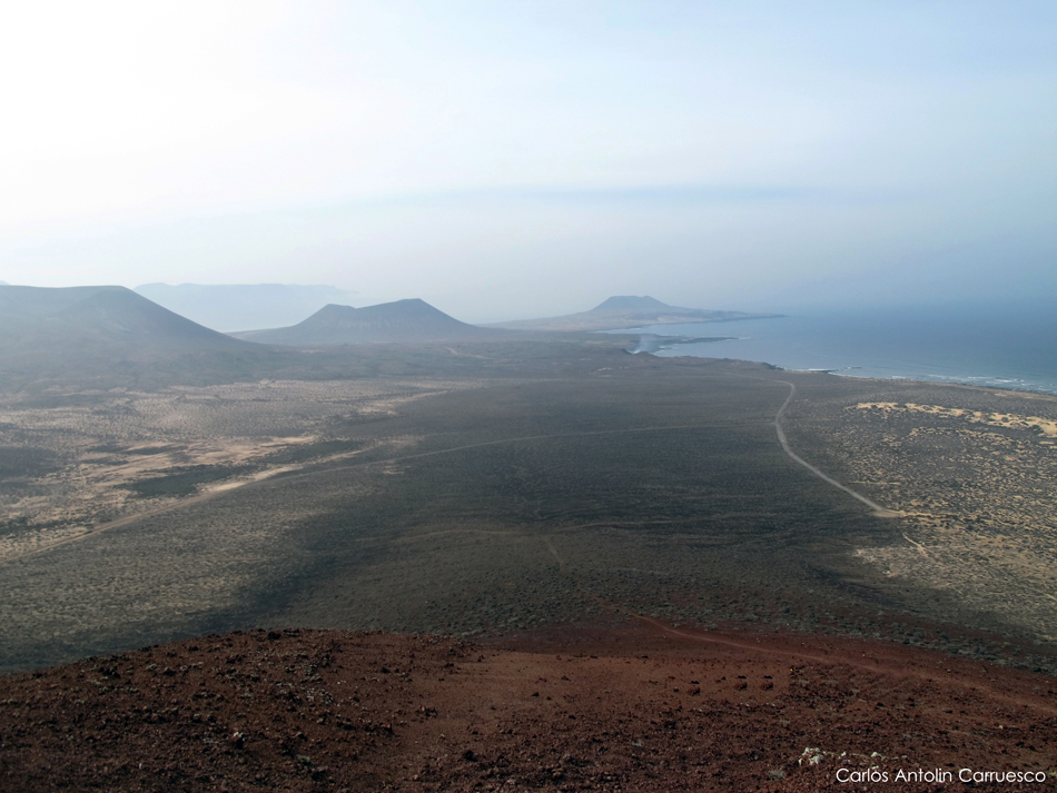 Montaña Bermeja (160 metros) - La Graciosa - Lanzarote