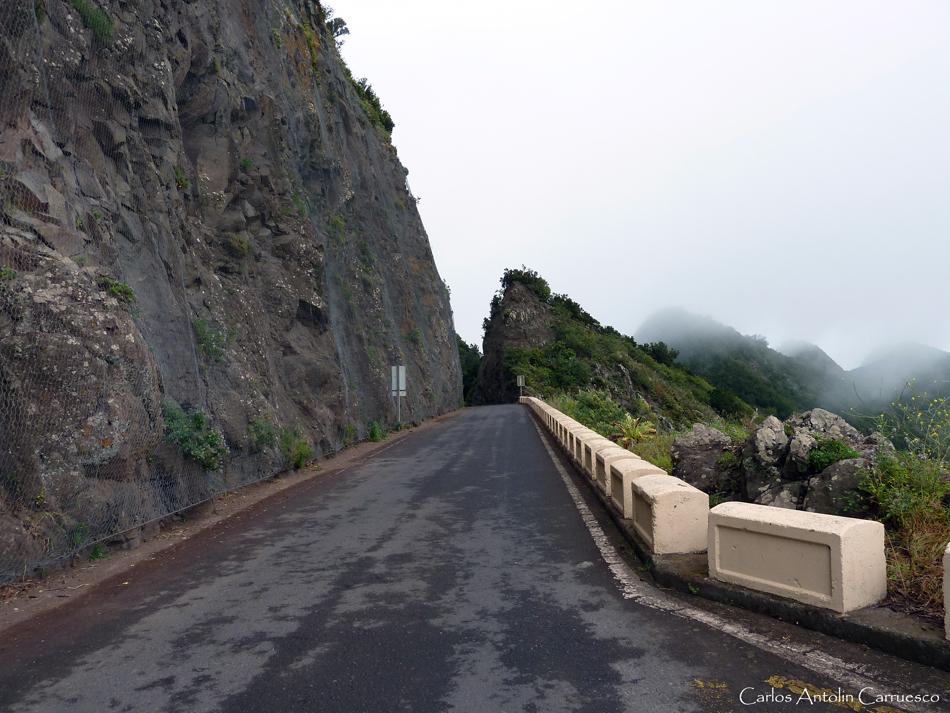 carretera TF-12 - Anaga