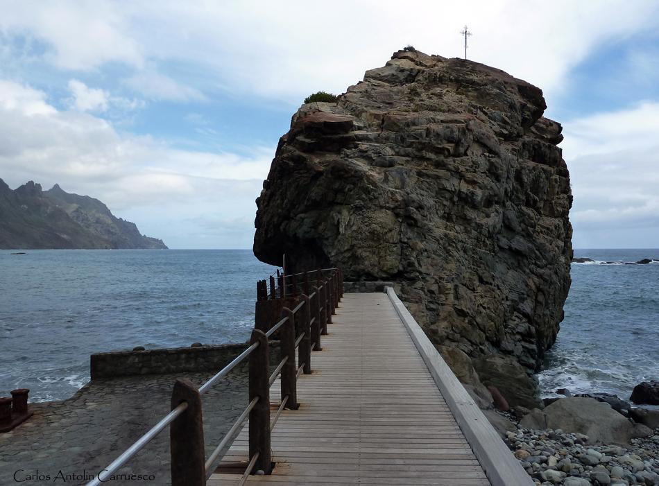 Playa de San Roque - aldea Roque de las Bodegas