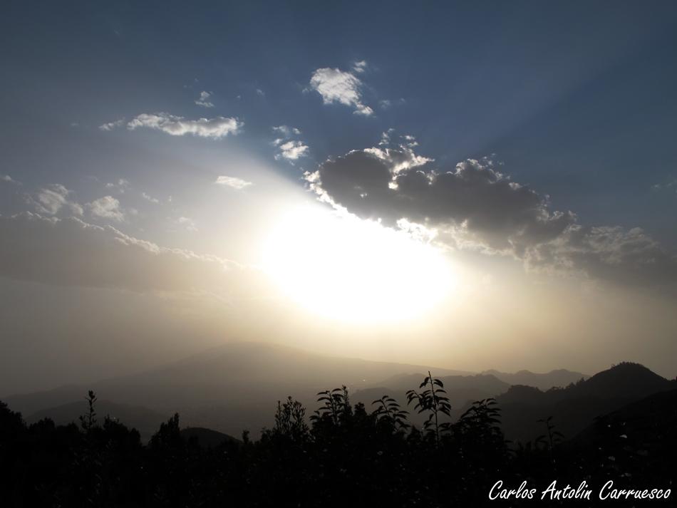 Amanecer desde el Pico del Inglés - Anaga