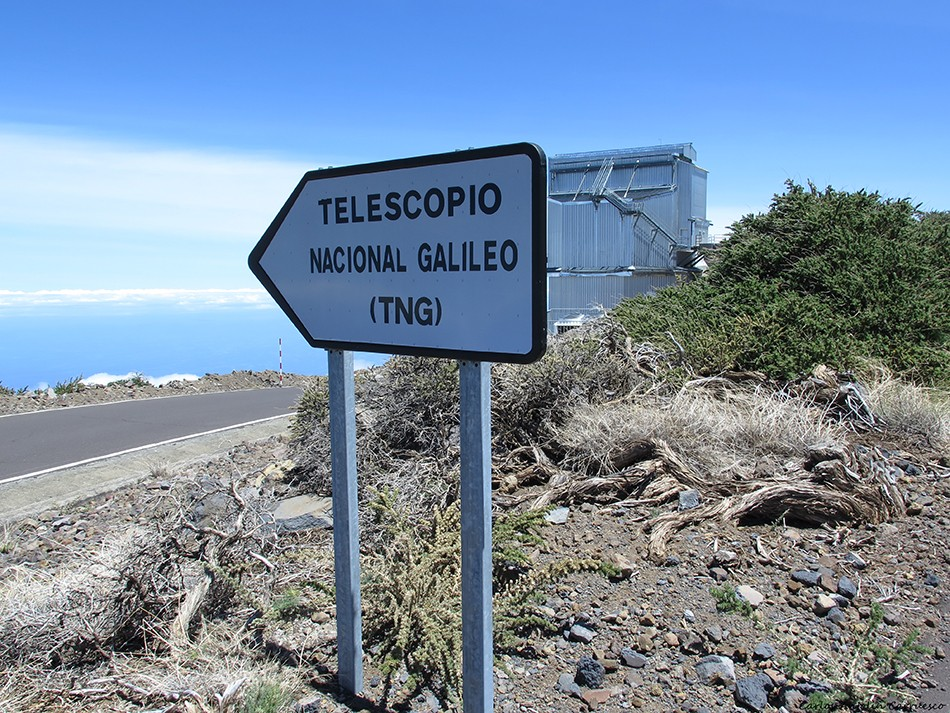 Roque de Los Muchachos - Telescopio Galileo - La Palma