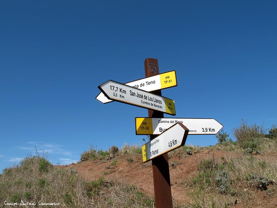 Camino del Risco - Teno Alto - Tenerife