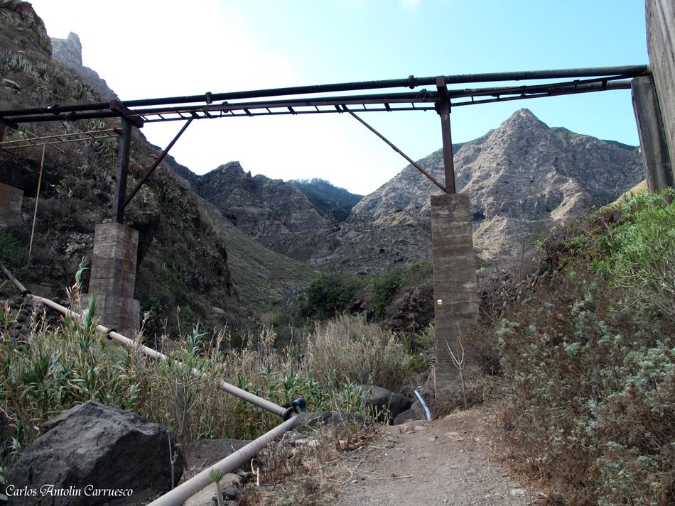 inicio del sendero - Camino del Risco - TF58