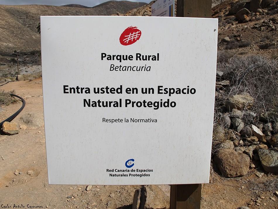 Buen Paso - Barranco de Las Peñitas - Fuerteventura - Parque Rural de Betancuria