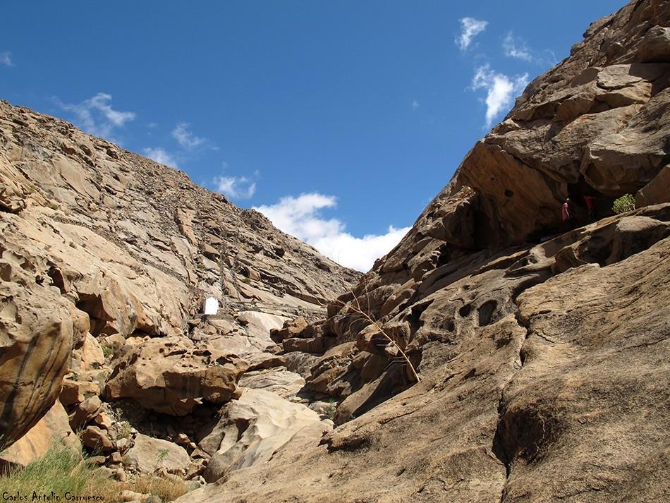 Barranco de Las Peñitas - Fuerteventura - ermita de Las Peñitas
