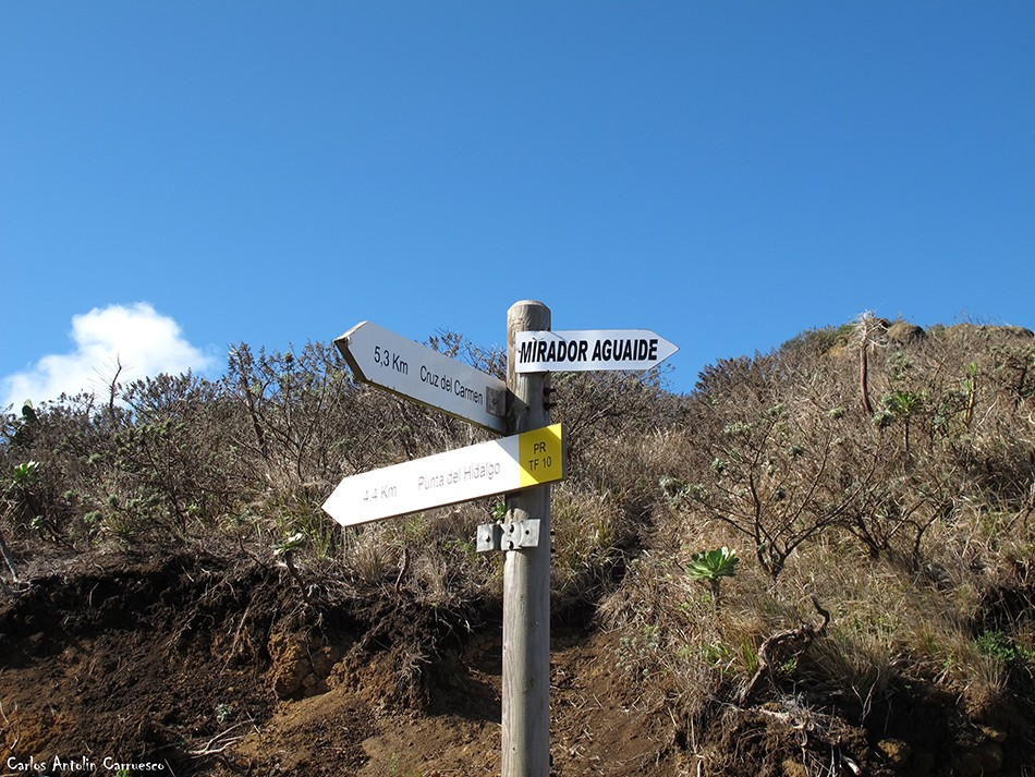Mirador Aguaide - Chinamada - Tenerife