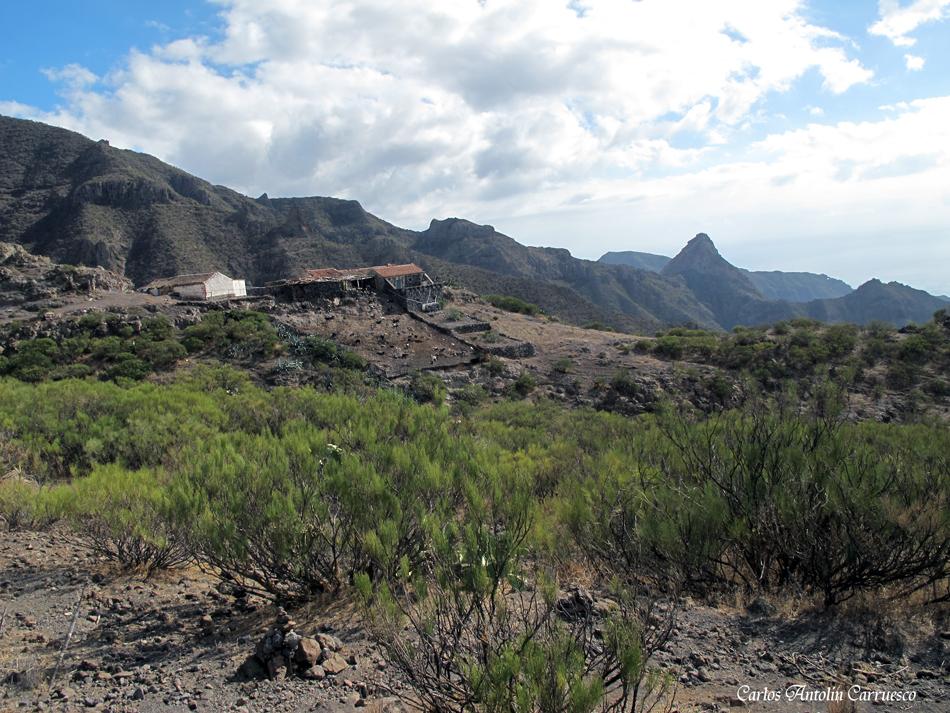 Casas de Araza - Masca -Teno - Tenerife - Camino de Guergues