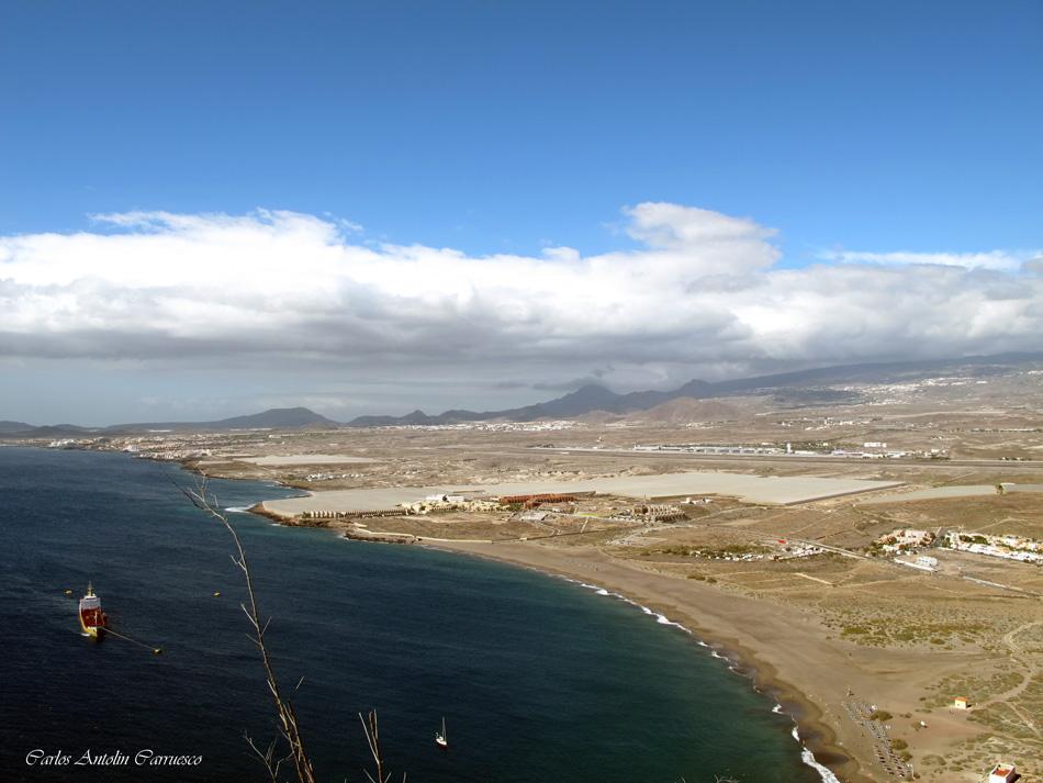 "Mirador del volcán ""Montaña Roja"" - La Tejita - Tenerife"