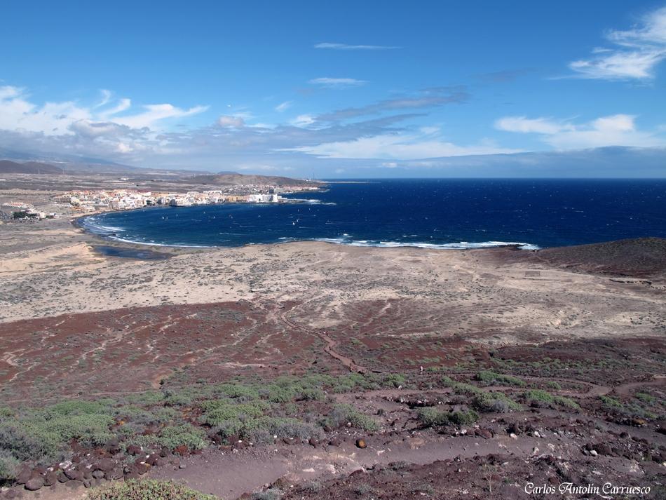 "volcán ""Montaña Roja"" - El Médano - Tenerife"