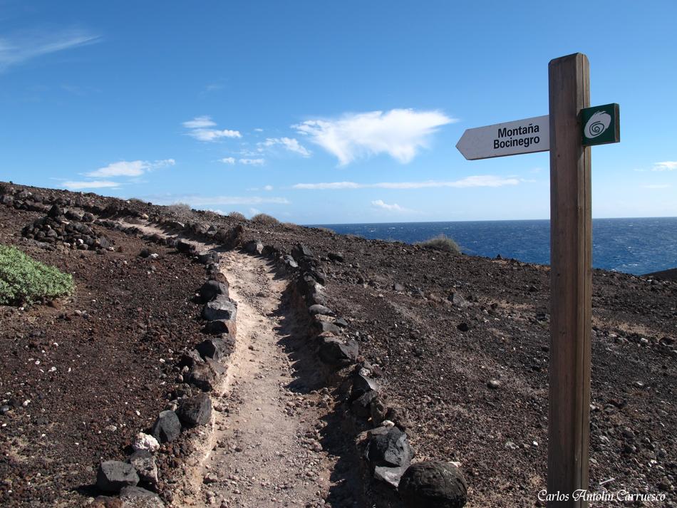 """volcán """"Bocinegro"""" - El Médano - Tenerife"""