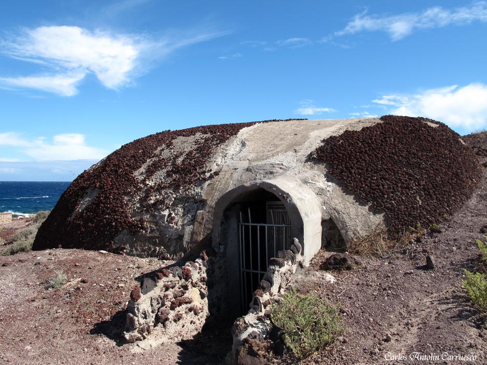 Bunker 2ª Guerra Mundial - Montaña Roja - El Médano - Tenerife