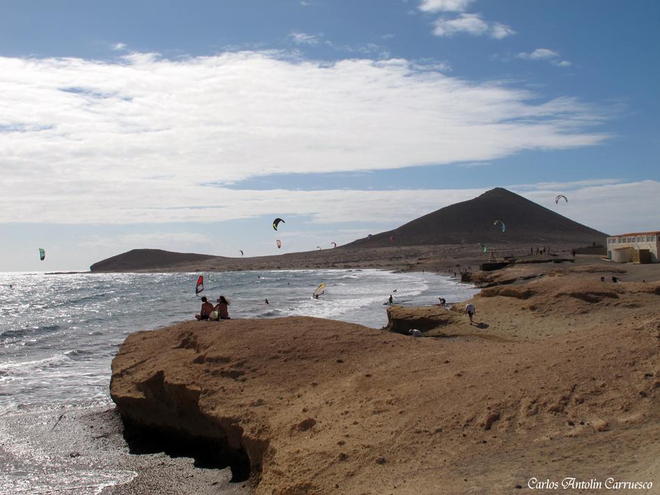 El Médano - playa de Leocadio Machado - Tenerife