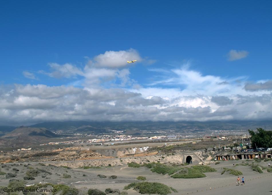 """El Médano - Aeropuerto Sur Reina Sofía - Tenerife - playa """"Los Balos"""""""