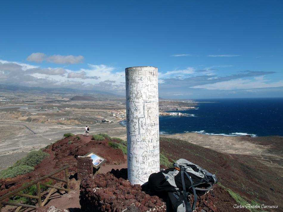 """Mirador del volcán """"Montaña Roja"""" - El Médano - Tenerife"""