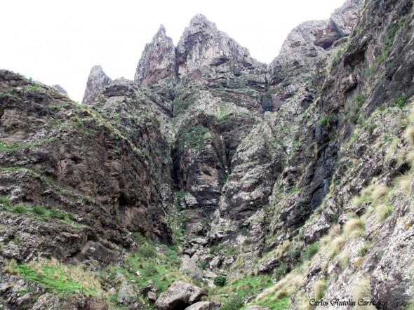 San Pedro - Roque Bermejo - Gran Canaria - barranco de ingenio