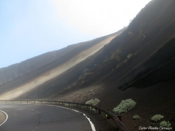 Carretera TF24 - Carretera de La Esperanza - Tenerife - la tarta