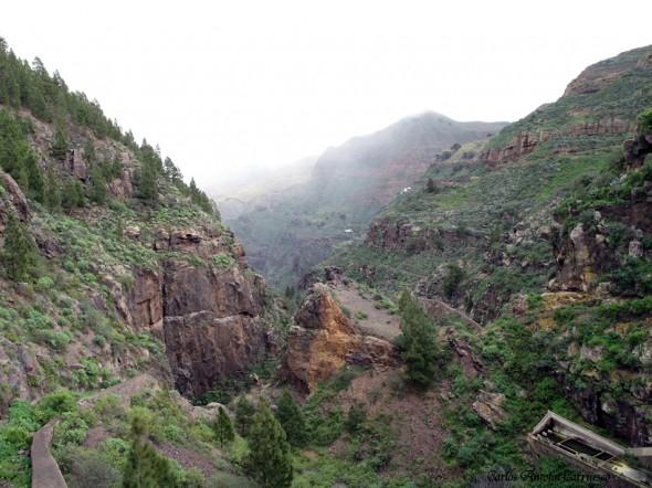 Barranco de Agaete - Tamadaba - Gran Canaria