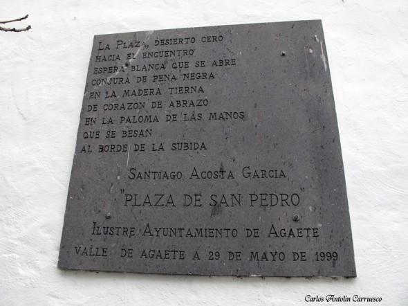 San Pedro - Agaete - Gran Canaria - plaza de san pedro
