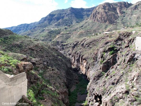 Embalse de Soria - Barranco de Arguineguin - Gran Canaria