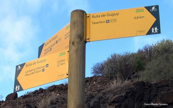 Güi Güi - Tasartico - Gran Canaria - Ruta de Guguy
