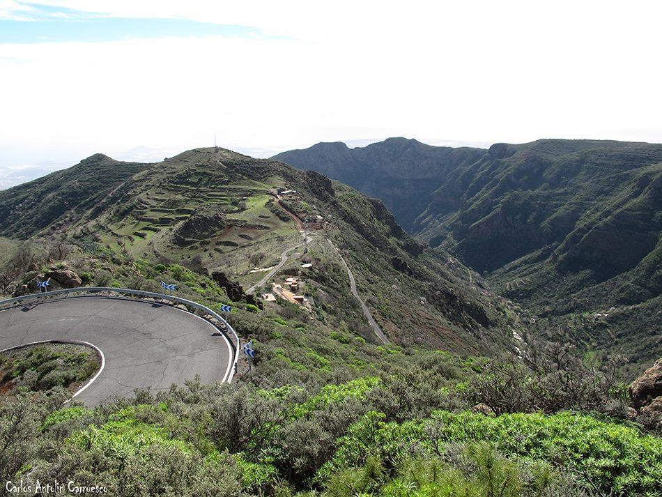 La Caldera de Los Marteles - Guayadeque - Gran Canaria
