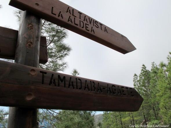 Parque Natural de Tamadaba - Gran Canaria - degollada del sargento