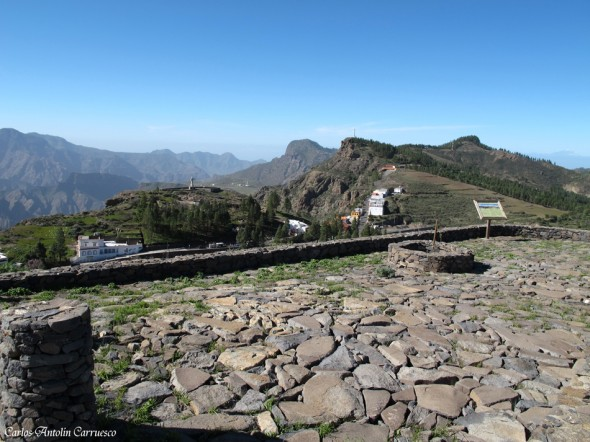 Mirador de los Poetas - Artenara - Gran Canaria