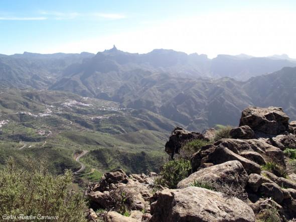 Cumbre central de la isla de Gran Canaria - Roque Nublo