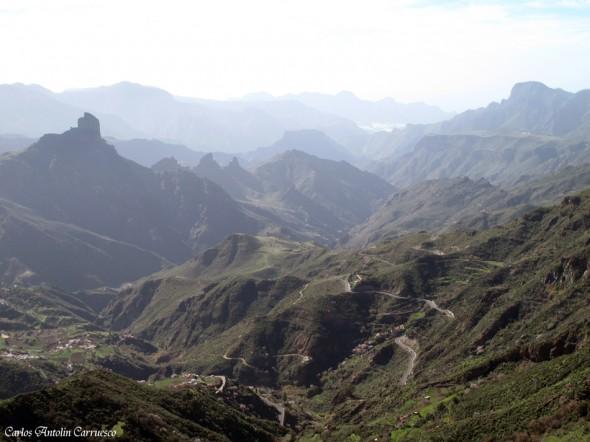 Cumbre central de la isla de Gran Canaria - bentayga