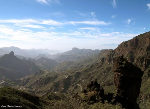 Cumbre central de la isla de Gran Canaria - Roque Bentayga