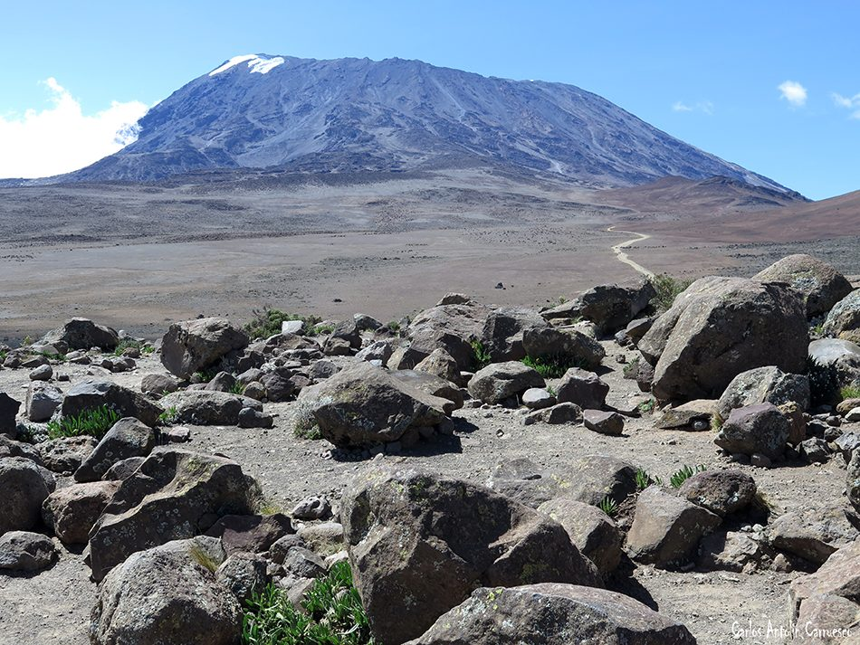 Monte Kilimanjaro - Volcán Kibo - Tanzania - Uhuru Peak - 5.895 metros de altitud