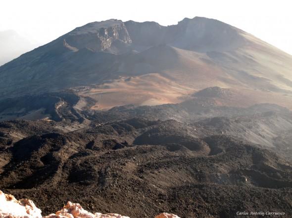 Pico y cima del Teide - 3.718 metros - Pico Viejo - Tenerife