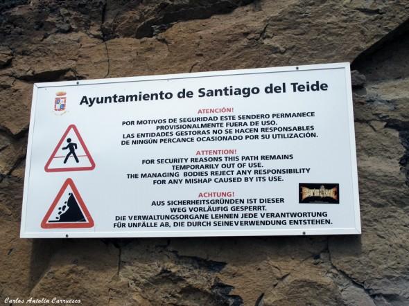 Puerto de Santiago - Los Gigantes - Calle Tabaiba - Tenerife