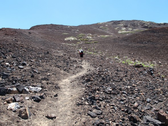 sendero y ruta Nº9 - Teide - Tenerife