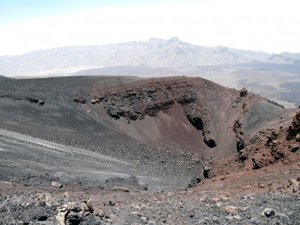 sendero y ruta Nº9 - Teide - Tenerife - Narices del Teide