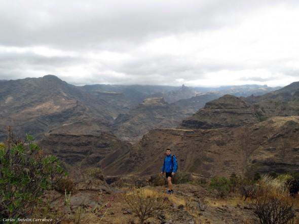 El Laurelillo - El Viso - Gran Canaria - roque Bentayga