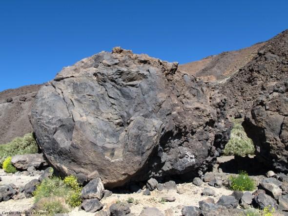 Ruta Nº7 - Teide - Tenerife - bomba lávica