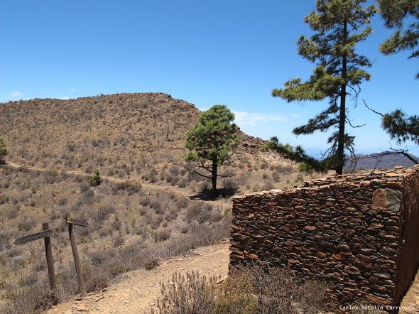 cruce de senderos - Gran Canaria