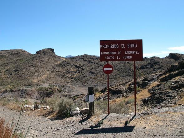 presa y embalse Salto del Perro - Gran Canaria