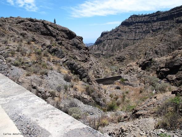 Embalse y presa Salto del Perro - Gran Canaria