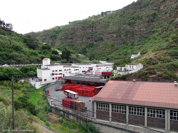 Azuaje - Gran Canaria<br/>fábrica de agua de Firgas