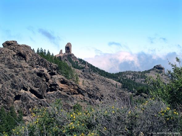 Degollada de Los Hornos - Gran Canaria - roque nublo