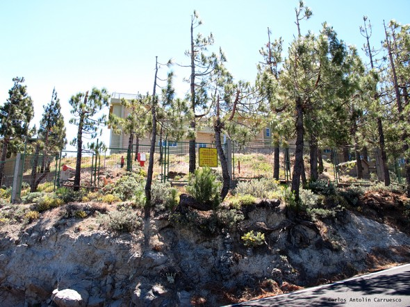 instalación militar - cumbre - Gran Canaria