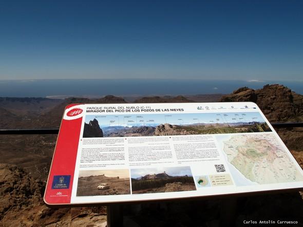 Mirador del Pico de los Pozos de Las Nieves - Gran Canaria