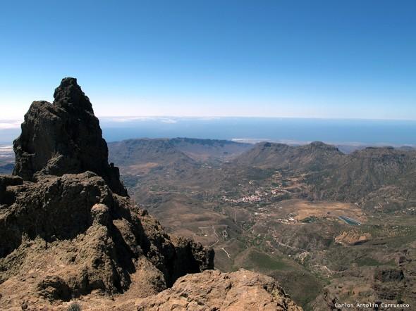 Morrón de La Agujereada (1.956 metros) - Pico de Las Nieves - Gran Canaria